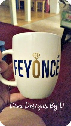 Feyonce // Newlywed // Just Engaged // Fiancee // Wedding // Bridal Gift by DivaDesignsByDesirae on Etsy