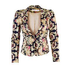 Victorian-inspired jacket. In stores now! #spring2013 #blazer