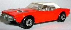 Matchbox Dodge Challenger in red
