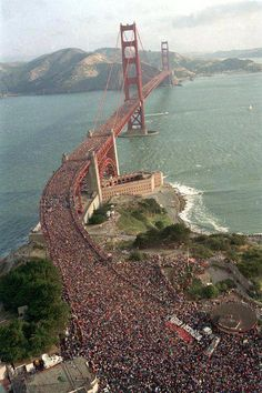 Golden Gate Bridge anniversary celebration