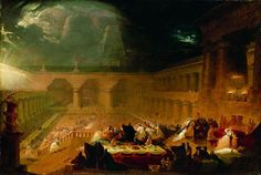 Belshazzar's Feast, painting by John Martin