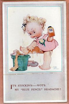 MABEL LUCIE ATTWELL card, c.1930s | eBay