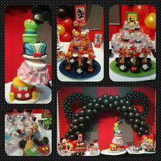 Combo Mickey y sus amigos Cake Extremo • Galletas • Cakepops • Malvapops • Gelatina • Manzanas Decoradas #PrityCakes