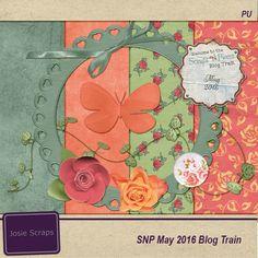 FREE Josie-Scraps: SNP May Blog Train