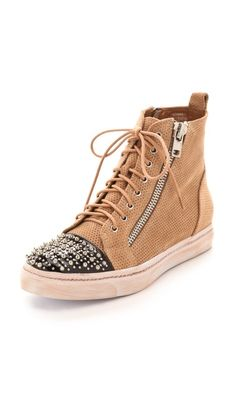 Jeffrey Campbell Adams Studded Sneakers. Whoa!