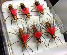 Some seriously bad-ass stoneflies by Ken Morrish Fishing Knots, Gone Fishing, Fishing Lures, Fishing Stuff, Nymph Fly Patterns, Fly Tying Patterns, Salmon Fishing, Trout Fishing, Fishing In Canada