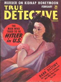 True Detective Mysteries February 1940