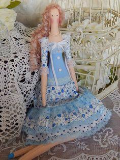 Купить Кукла текстильная интерьерная Тильда - тильда, кукла ручной работы, кукла в подарок