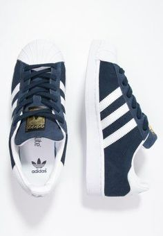 adidas Originals SUPERSTAR  - Sneaker low - collegiate navy/white - Zalando.de