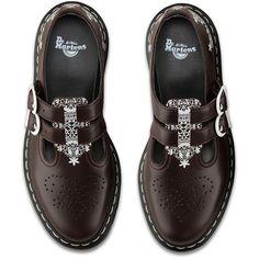 Dr. Martens Leather 8065 Lace-Up Shoes ($135)