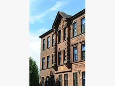 This striking building on Carstairs Street, Glasgow, was built in 1903.