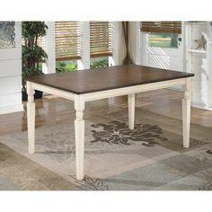 Signature Design by Ashley Whitesburg Rectangular Dining Table - D583-25