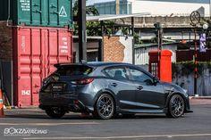 Mazda 3 Skyactiv สวยหล่อบาดใจไปกับชุดแต่ง จาก MZ STORE - รถแต่ง ศูนย์รวมข้อมูลเกี่ยวกับรถแต่ง