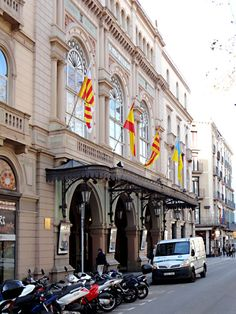 """See 1221 photos from 5603 visitors about concerts, spaces in barcelona, and lively. """"One of the great traditional concert spaces in Barcelona. Opera, Barcelona, Street View, Spaces, Street, Opera House, Barcelona Spain"""