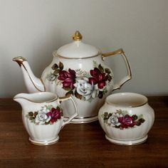 Vintage Sadler China Teapot no3427 with by inVintageCondition, $58.00