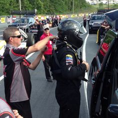 Doug Kalitta suits up at Atlanta Dragway