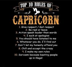 Capricorn And Sagittarius Compatibility, Capricorn Lover, Capricorn Season, Capricorn Quotes, Sagittarius And Capricorn, Aquarius, Capricorn Characteristics, January Quotes, Frases