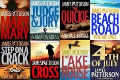 James Patterson is a great author!!! suspense and some love all mixed up by teri-71