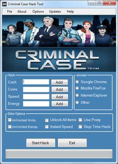 Hack and Keygen: Criminal Case Hack