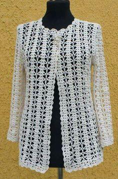 Gilet Crochet, Crochet Jacket, Crochet Poncho, Crochet Cardigan, Crochet Sweaters, Stitch Crochet, Modern Crochet Patterns, Crochet Clothes, Knitting