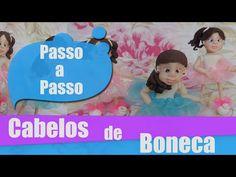 Boneca bebe - Parte 4 - Como fazer cabelos - YouTube