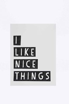 Nice Things Wall Art - Urban Outfitters
