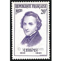 Chopin -  Timbre France Poste