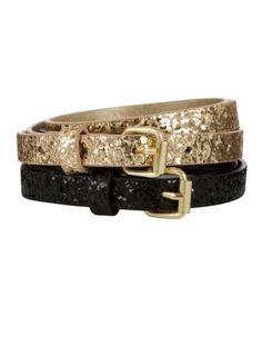Skinny Glitter Belts: TENEMOS FAJAS DELGADAS CON BRILLO (GLITTERED) EN CASA EVANGELINA