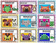 Alphabet Animal Hats Crafts Bundle by Crafty Bee Creations Abc Crafts, Arts And Crafts, Alphabet Activities, Preschool Activities, Elephant Hat, Art Cart, Animal Hats, Ear Hats, Art Classroom