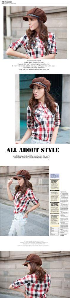 d23419ee3ed 2012 new Sa cap women s cap  Fashion octagonal hat  short brim newsboy cap  hat