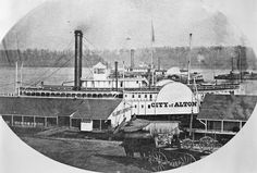 Alton Illinois, Steamboats, Power Boats, Steam Engine, Old Pictures, Mississippi, Hug, America, Memories
