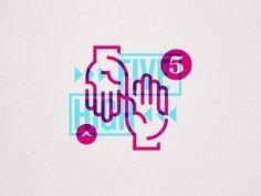 High Five by Steve Bullock #Design Popular #Dribbble #shots
