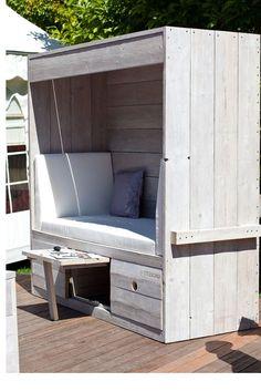 Loungemöbel aus holz selber bauen  Lounge 3er Sofa » WITTEKIND Gartenmöbel » Holz Gartenmöbel ...