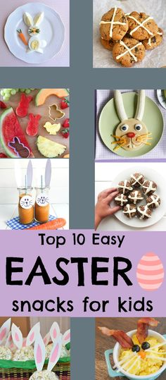 The cutest & easiest recipes to try this Easter. The kids will love them! #easter #healthyeaster #rawballs #blissballs #glutenfree
