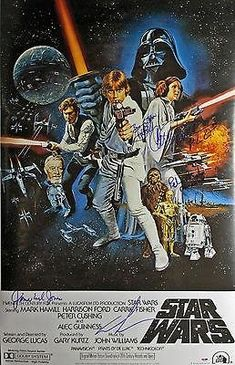 Star Wars (Harrison Ford Mark Hamill 4) 24X36 Movie Poster #Ab10742 @ niftywarehouse.com #NiftyWarehouse #Geek #Products #StarWars #Movies #Film