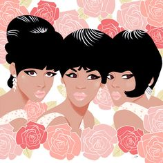Commission: The Supremes ♥ Sibylline   French   21   Freelance illustrator