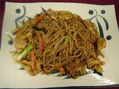 Sam's Chicken Lo Mein Noodles Recipe from Samya