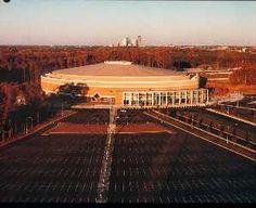Charlotte Coliseum - Charlotte, NC  Former Home of the NBA Charlotte Hornets  Demolished in 2007 :(