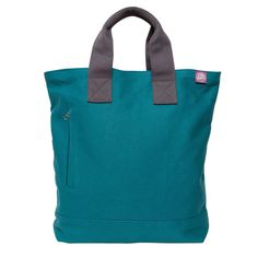 The Stud Tote Turquoise by Cuddly Monkey