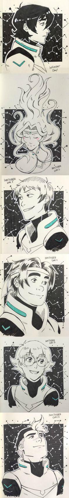 Inktober sketches - by eibbieembarrassed