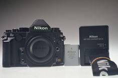 NIKON Df 16.2MP Digital Camera Body Black Very Low 960 Shutter Count Excellent