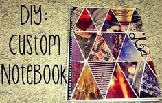 Back to School: DIY Custom Notebook