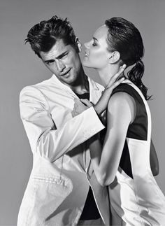 Freja Beha Erichsen and Sean O'Pry for Hugo by Hugo Boss Spring/Summer 2012 Ad Campaign.