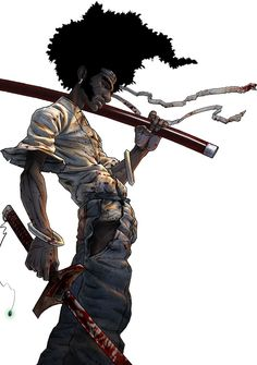 notorious-art:    Afro