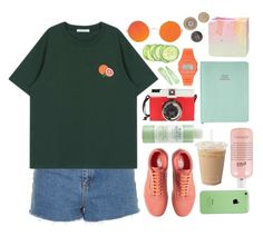 """outfit #212"" by theunicat ❤ liked on Polyvore featuring Topshop, Vans, Edition, Mario Badescu Skin Care, philosophy and Casio"
