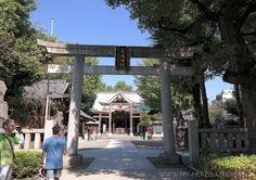 Eingang zum Shrine / Schrein in Tokyo #mitdemRaddurchTokyo