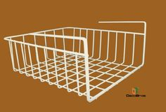DecoBros Under Shelf Basket Wrap Rack, White Deco Brothers http://smile.amazon.com/dp/B008UOXJIS/ref=cm_sw_r_pi_dp_PEt-tb1DA9051 (9.97)