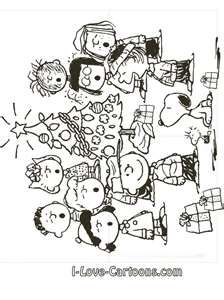 Peanuts Coloring Pages