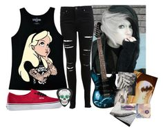 """""""Band girl (Desc.)"""" by paniceverywhere ❤ liked on Polyvore featuring Miss Selfridge, Disney, Vans and country"""