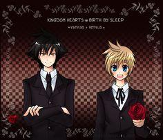 ventus and vanitas | Kingdom Hearts Birth by Sleep Vanitas